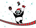 今個普天同慶的聖誕,梳打熊貓祝大家有一個窩心的節日!