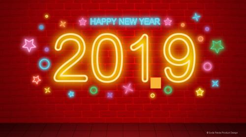 2019新年快樂!