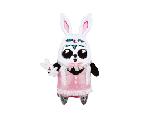 限量版梳打熊貓角色扮演 十二生肖系列公仔(兔)