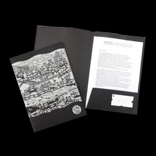 新品上市: 環保牛皮紙文件夾