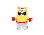 限量版梳打熊貓角色扮演 十二生肖系列公仔(虎)